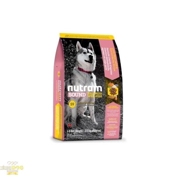 Croquettes Nutram Agneau pour chien