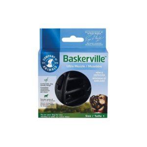 Muselière Baskerville Ultra rigide noir