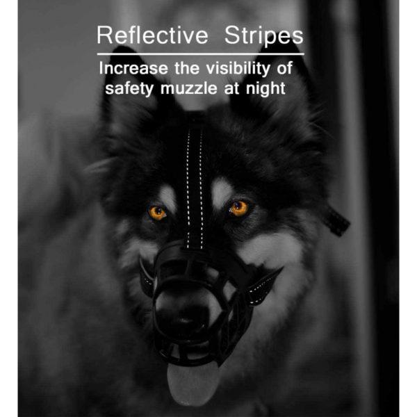 Muselière Muzzle Flex, en silicone